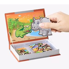 Bộ đồ chơi ghép hình cuốn sách - Khu rừng vui nhộn