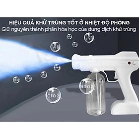 Bình phun khử trùng sát khuẩn , bình xịt điện không dây cầm tay 800ml , khử trùng sạch vi khuẩn , đuổi côn trùng làm sạch không khí - MÀU NGẪU NHIÊN
