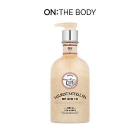 Sữa tắm hạt On: The Body Veilment Natural Spa Dead Sea Salt 600g