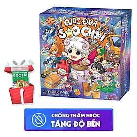Combo Boardgame Lớp Học Mật Ngữ - Cuộc Đua Sao Chổi và 100 sleeves bọc bài