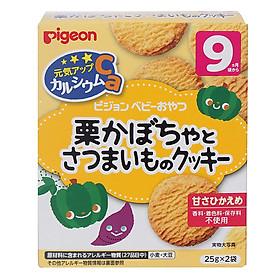 Bánh Ăn Dặm Vị Bí Ngô Và Khoai Lang Pigeon 13370 (50g)
