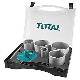 Bộ 7 mũi khoét lỗ (cacbua) Total TACSH2071