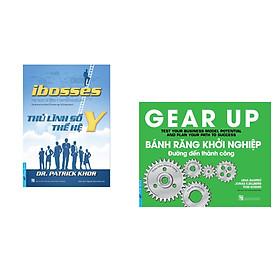 Combo 2 cuốn sách: Ibosses - Thủ Lĩnh Số Thế Hệ Y + Bánh Răng Khởi Nghiệp - đường đến thành công