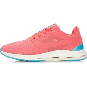 Giày thể thao nữ thoáng khí đế bằng - GN004 Hồng Cam