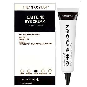 Tinh chất dưỡng mắt The INKEY Caffeine Eye Cream 15ml