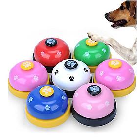 Chuông huấn luyện cho thú cưng (Màu Ngẫu Nhiên) - Rung chuông xin ăn, xin phép ra ngoài