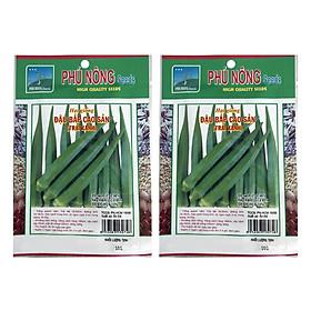 Bộ 2 Gói Hạt Giống Đậu Bắp Cao Sản Phú Nông (10g / Gói)