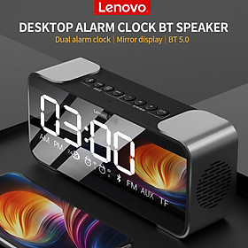 Loa Bluetooth Lenovo L022 Wireless BT Speaker Portable Wireless Stereo Speaker Subwoofer Audio Player with Dual Alarm Display