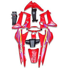 Bộ vỏ nhựa dàn áo xe Wave Alpha đời 2004 nhãn hiệu GTP