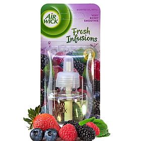 Lọ tinh dầu thiên nhiên Air Wick Very Berry Smoothie 19ml QT04993 - hương dâu tây