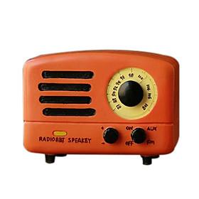 Hộp nhạc mô hình đài radio cổ retro