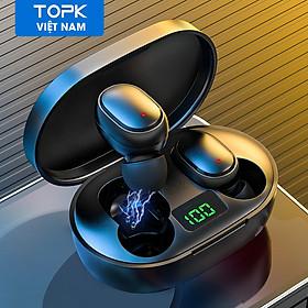 Tai Nghe Gắn Tai Không Dây HiFi TOPK T24 TWS  Bluetooth 5.0  Gọi/Kết Thúc Bằng Giọng Nói Cho OPPO Vivo Samsung HUAWEI Xiaomi - hàng chính hãng