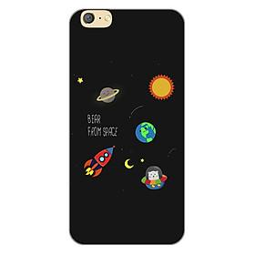 Ốp lưng dẻo cho điện thoại Oppo A71_0510 SPACE06 - Hàng Chính Hãng