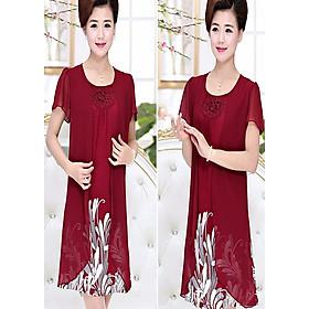 Váy, Đầm Cho Người Trung Niên, Người Lớn Tuổi NG26D