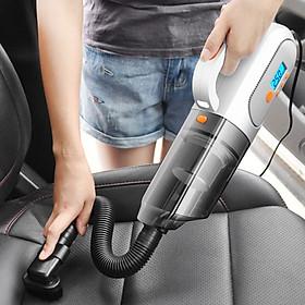 Máy hút bụi ô tô , bơm lốp dùng qua tẩu 12V  DM6088
