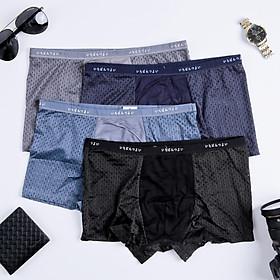 Combo 4 quần đùi boxer nam hàng xuất nhật cao cấp