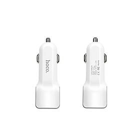 Sạc Xe Hơi 2 Cổng USB Hoco Z23