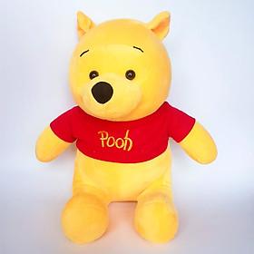 Hình đại diện sản phẩm Gấu bông gấu pooh áo đỏ rời 45cm