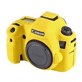 Bao Silicon Bảo Vệ Máy Ảnh Cover Cho Canon 6D Vàng