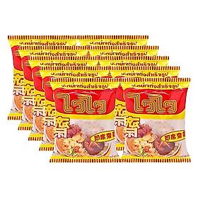 Combo 10 gói mì chay Wai Wai Thái Lan ( 60g / gói )
