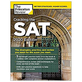 Cracking The SAT With 5 Practice Tests, 2020 Edition (College Test Prep): The Strategies, Practice, And Review You Need For The Score You Want