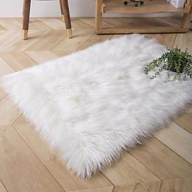 Thảm lông xù cao cấp - thảm lông trang trí chụp hình ảnh