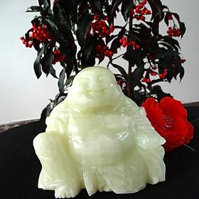 Tượng Phật Di Lặc Onyx Xanh