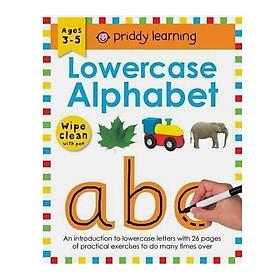 Lowercase Alphabet: Wipe Clean Workbooks