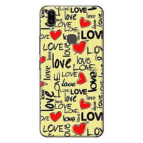 Ốp Lưng Dành Cho Vivo V9 - Hoạ Tiết Love