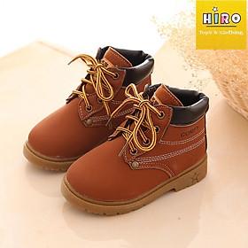 Giày boot cho bé trai bé gái sành điệu - giày boot bé trai - giày bốt cho bé
