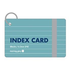Flash Card (88*56Mm/Band) - Morning Glory -80074 - xanh Lá