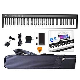 Đàn Piano Điện Konix PH88C 88 Phím nặng Cảm ứng lực Midi Keyboard Controllers - Kèm Móng Gẩy DreamMaker