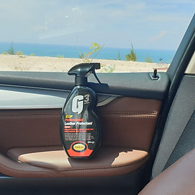 Chai xịt bảo vệ bề mặt da ô tô G3 Pro Leather Protectant 500ml