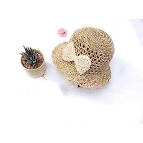 Mũ be cc nơ ren - Nón mùa hè cho bé