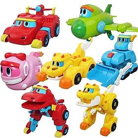 Bộ đồ chơi lắp ghép, xếp hình biệt đội siêu khủng long biến hình Dino Gogo (bao bì ngẫu nhiên)