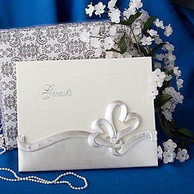 double heart resin decoration upscale groom bride wedding sign in this