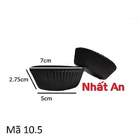 CHÉN GIẤY MÀU ĐEN 10.5CM (1000 CÁI/CÂY).
