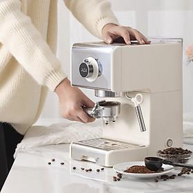 Máy pha cafe espresso 20 Bar bán tự động ACA ES12A hàng chính hãng