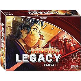 Trò Chơi Board Game Phối Hợp Pandemic Legacy Seasson 1 : Hậu Đại Dịch Tiếng Anh