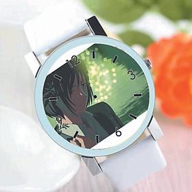 Đồng hồ đeo tay IN HÌNH Kotonoha No Niwa - Khu Vườn Ngôn Từ anime