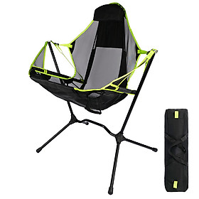Outdoor Folding Chair with Pillow Portable Comfortable Fishing Chair  Camping Chair