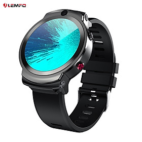 LEMFO LEM13 4G LTE Smart Watch with Nano SIM Card Slot 8MP+2MP Dual-Camera Smartwatch with Video Calling and Speaker