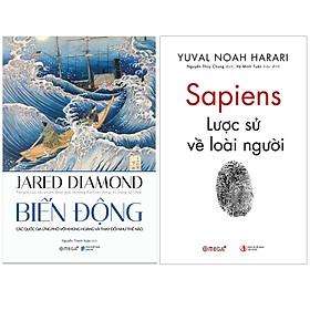Combo Sách : Biến Động - Jared Diamon + Sapiens: Lược Sử Loài Người