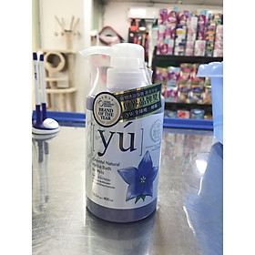 Sữa tắm YÚ Natural White Formula - 400ml - Sữa tắm dành cho chó lông trắng