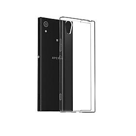 Ốp lưng silicon dẻo trong suốt loại A cao cấp cho Sony Xperia XA1 Ultra