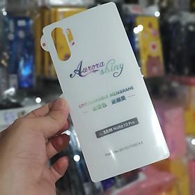 Miếng dán PPF mặt sau Dành cho Samsung Galaxy Note 10 Plus