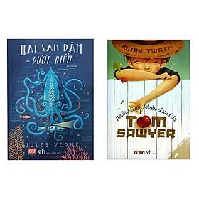 Combo Truyện Phiêu Lưu Hấp Dẫn: Hai Vạn Dặm Dưới Biển + Những Cuộc Phiêu Lưu Của Tom Sawyer (Truyện Hiện Đại Bán Chạy)