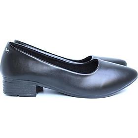 Giày búp bê nữ da mờ Rozalo R5603