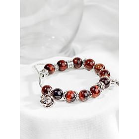 Hình đại diện sản phẩm Jewelry Vòng đá mắt hổ charm hoa hướng dương