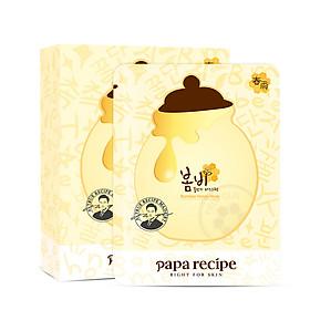 Mặt Nạ Dưỡng Da Hàn Quốc Papa Recipe (Hộp 10 Miếng)